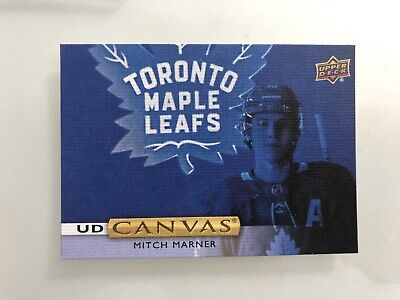 2019 19-20 Upper-Deck Series 2 Ud Canvas Maple-Leafs Mitch Marner #C121