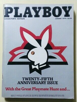 magazine PLAYBOY collector's edition 25° anniversary January 1979