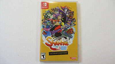 Shantae Half Genie Hero Ultimate Edition Nintendo Switch Missing Manual