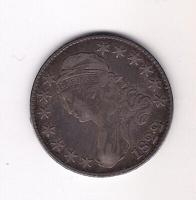 1822 Capped Bust Half Dollar Lettered Edge words visible Super Rare Date