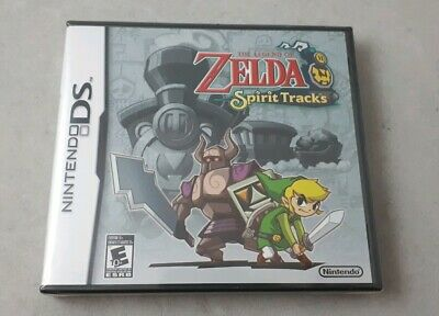 NEW sealed The Legend of Zelda: Spirit Tracks (DS, 2009)
