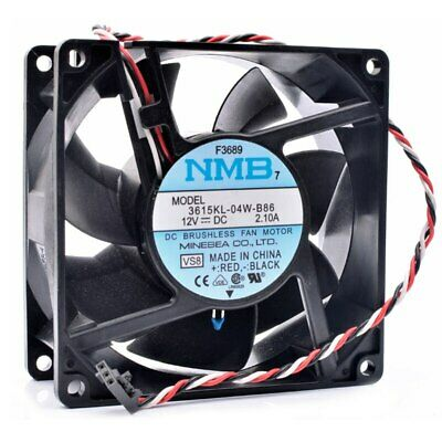 For NMB 9038 3615KL-09W-B76 50V 0.60A 929238mm Server Square Fan Cooling Fan