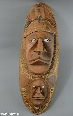 Smooth New Guinea Mask