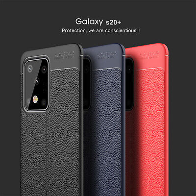For Samsung Galaxy S20 Plus S20 Ultra Slim Soft Rubber TPU Shockproof Case Cover