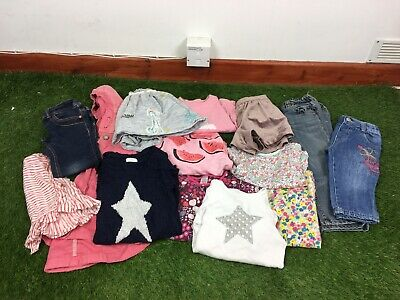 Girls Age 2-3 Years Clothes Bundle Next Mini Club 14 Items B250