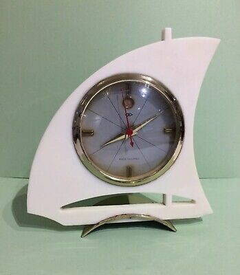 Art Deco Yacht Alarm Clock
