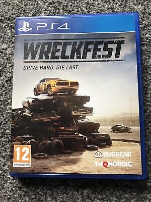 Wreckfest Sony Playstation PS4 Game 12+ Years