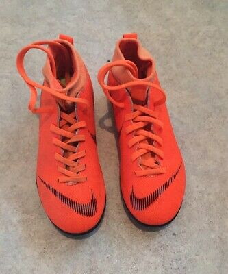Nike Kids Mercurial Academy Football Boots Orange/Black Size 1
