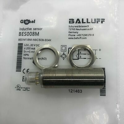 ONE NEW BALLUFF BES M18MI-NSC50B-S04K Proximity Switch FREE SHIPPING