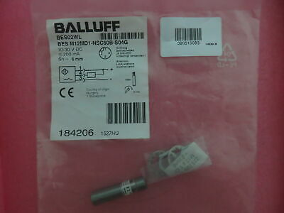 1PC NEW BALLUFF BES M12MD1-NSC60B-S04G Proximity switch FREE SHIPPING