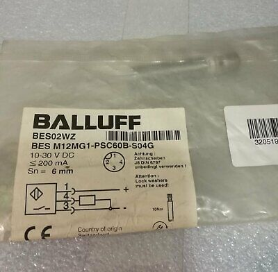 ONE NEW BALLUFF BES M12MGI-PSC60B-S04G Proximity Switch FREE SHIPPING