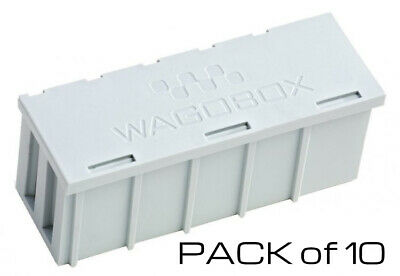 10 x Wago Wagobox Grey Multipurpose Connector Electrical Junction Box 51008319
