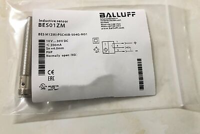 1PC NEW BALLUFF Proximity switch BES M12MI-PSC40B-S04G-M01 FREE SHIPPING