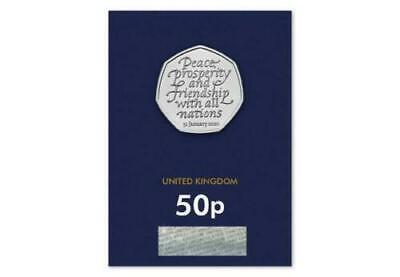 2020 UK Brexit CERTIFIED BU 50p - 1 Pence Auction Start!