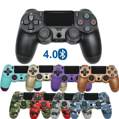 Wireless Bluetooth Controller Dual Shock Joystick for PS4 Console Gamepad