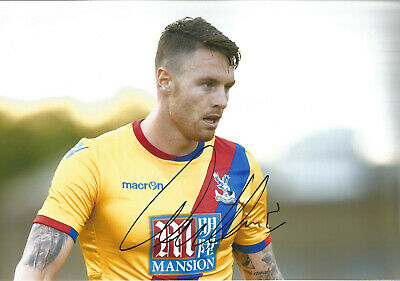 Connor Wickham Crystal Palace 12x8 hand signed authentic football photo SS094