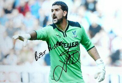 Juilian Speroni Crystal Palace 12x8 hand signed authentic football photo SS096
