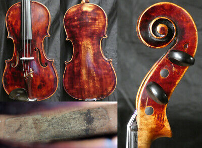 Fine +150y 4/4 Antique Baroque Austrian Violin 19th Fiddle 小提琴 ヴァイオリン скрипка