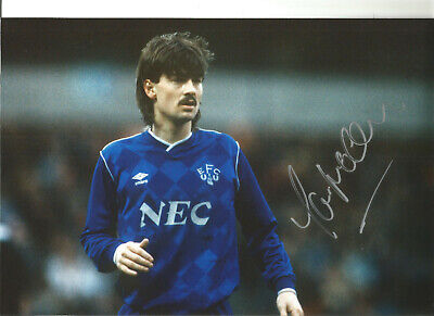 Ian Snodin Everton 12 x 8 inch hand signed authentic football photo SS113A
