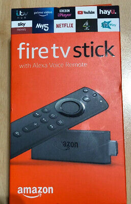 NEW Amazon Fire TV Stick 2nd Generation With Alexa Voice Remote (2019 Model)