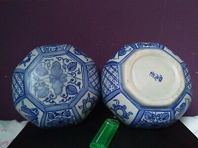 18th Century Khangxi Large Blue and White Porcelain,Hand Painted