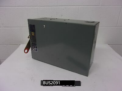 Used Star Line Busway Tap Box 60 Amp WARRANTY EF60-4