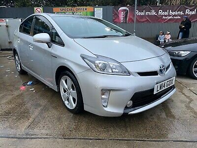2014 TOYOTA PRIUS 1.8 Silver Euro 6 Hybrid Auto Hatchback Reverse Cam Hpi Clear