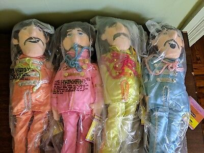 COMPLETE SET 1988 Applause BEATLES Sgt Pepper Lonely Hearts Club Band Dolls