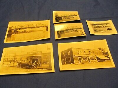 Rare Dorset Muskoka Canada Post Card & Photo Lot RPPC General Store Post Office