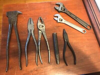 UTICA Tools-Pliers, Wrenches & Punch-Starting Bid of $18.99
