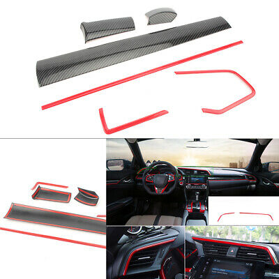 Console Center Dashboard Covers for Honda Civic 10th 2016 2017 2018
