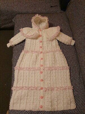 0-6 Mnths Baby Girls Sleeping Bag Brand New Hand Made