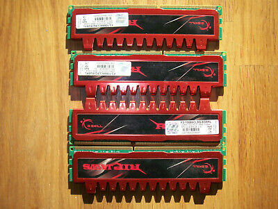 8GB DDR3 (F3-10666CL9D-8GBRL) GSKILL Ripjaws (2x4Gb)