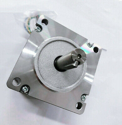 1PC Nema34 Stepper Motor 1280oz-in 6A Key way shaft 34HS1460D14L40J5-2-T CNC KIT