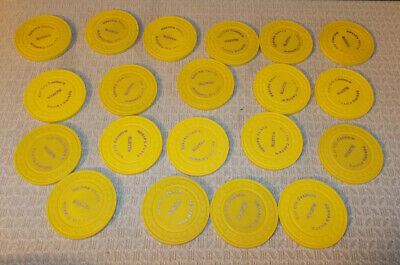 RAIL CITY CASINO LOT OF 20 ROULETTE casino hotel gaming poker chips ~ Sparks, NV