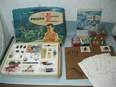Alter Experimentierkasten Philips Electronic Engineer EE8 Basic Kit