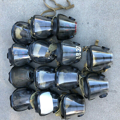 Lot of 14 Scott AV-3000 Masks Fireman Firefighter Facemask!