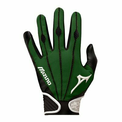 Mizuno Vintage Pro Batting Gloves - black/green - Size Youth L - 1 Pair