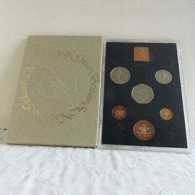 1976 UNITED KINGDOM 6 COIN PROOF SET - sealed outer