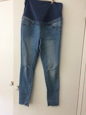Bub2B Maternity Size 16 light Blue Jeans