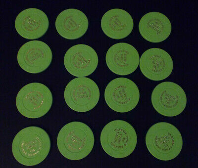 CLASSIC POKER CRUISES CASINO NO CASH VALUE gaming poker chips ~ LOT OF 16