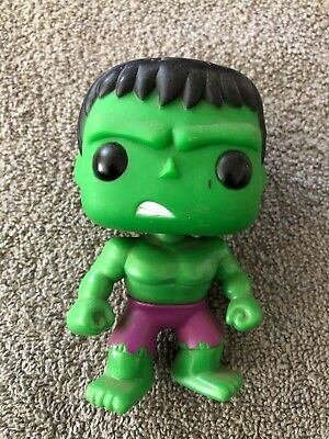 Funko Pop! The Incredible Hulk 08 Vaulted Retired LOOSE Marvel Avengers 2011