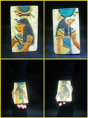 EGYPTIAN ANTIQUE ANTIQUITY Two Different Sides Drawings Stela 1549-1303 BC
