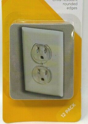 Safety 1st Dorel 1711 12 Pack Clear Outlet Child Kid Safety Cap (Lot of 5 packs)
