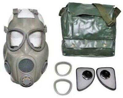New Military Grade Gas Mask With New Unissued Sealed Filter + Bag