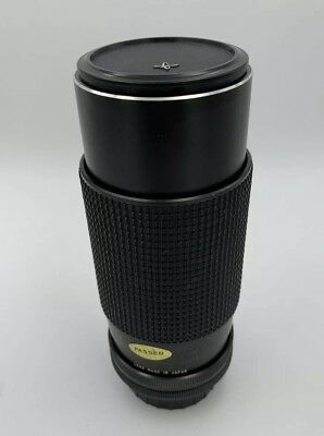 Sears Auto Zoom Lens 80-200mm 1:4.0 for Canon FD Mount Cameras