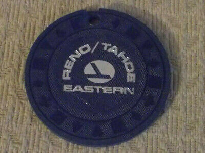 EASTERN RENO/TAHOE advertising NCV hotel casino gaming poker chip