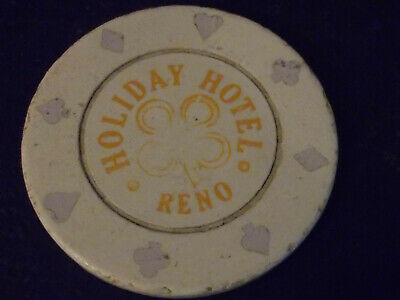 HOLIDAY HOTEL CASINO ROULETTE hotel casino gaming poker chip ~ Reno, NV