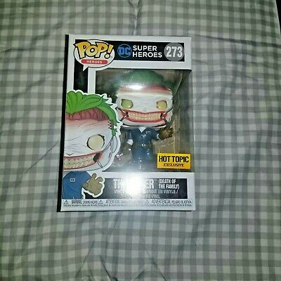 Funko Pop! The Joker Death of the Family #273 Hot Topic Exclusive Box Damage