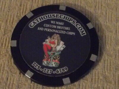 CAT HOUSE CHIPS ADVERTISING hotel casino gaming chip